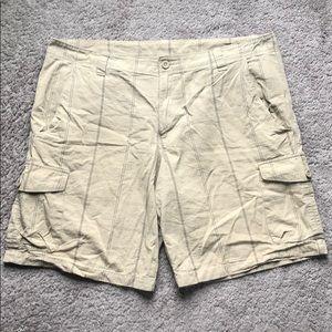 The North Face Tan Cargo Shorts
